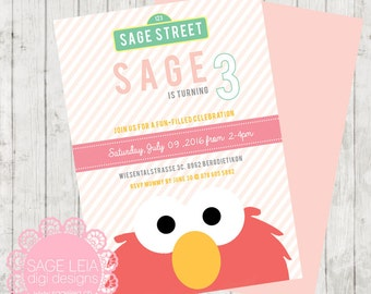 Custom Printable Sesame Street