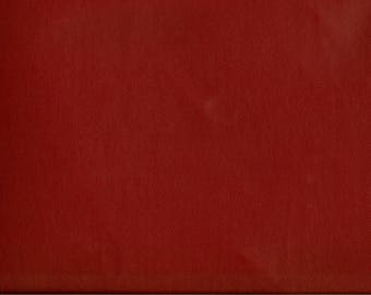 FABRIC red faux leather