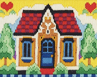No Place Like Home longstitch kit
