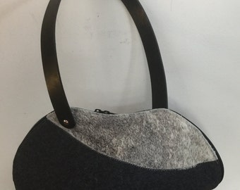 Hide Felt handbag Bag
