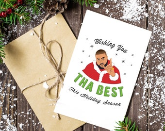 DJ Khaled You The Best Holiday Card (3 pack)