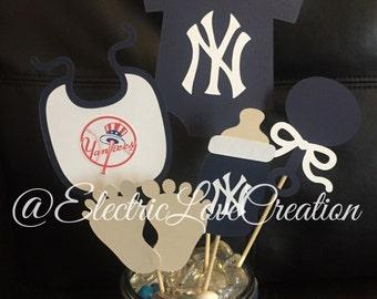 Yankees Baby Shower Etsy