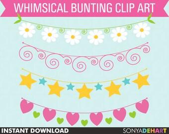 Clipart Bunting | bunting clipart,bunting clip art,clip art,clipart,clip art bunting,bunting,banner clipart,banner clip art,digital bunting