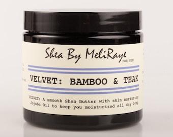 Velvet: Bamboo & Teak Whipped Shea Butter for Him