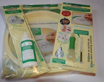 For embroidery sewing tool set