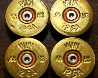 HUGE lot 25 Win 12ga AA HS shotgun shell heads headstamps, shotgun shells, bullets,  for crafts and jewelry