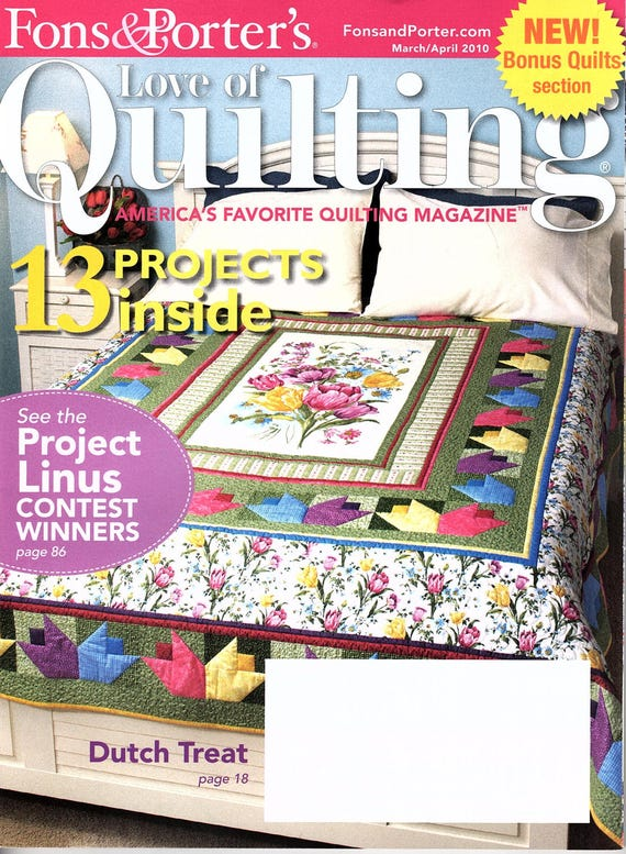 quilting s issue june fons love magazine of favorite quilt porters porter america may americas