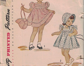 Simplicity 2788 Toddler Dress