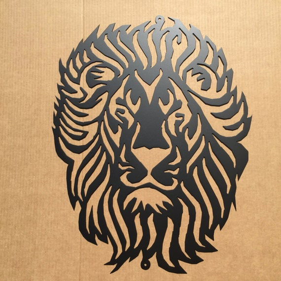Metal Art Lion Metal Wall Art G4