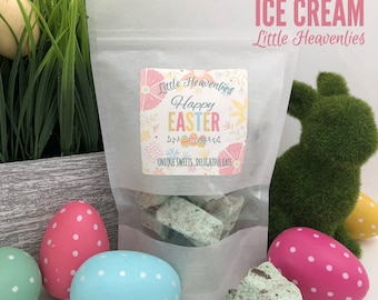 Easter basket gift etsy easter basket gifts easter present party favor real ice cream easter kids negle Images
