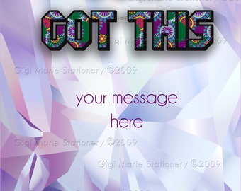 YOU GOT THIS! Care Package Card - College Student Care Package - College Grad - College Student **Instant Download**