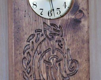 Celtic Horse Clock