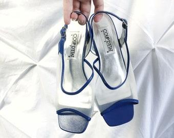 Vintage sling back heels vintage heels vintage shoes