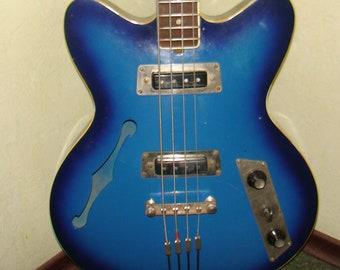 Jolana Rubin Bass Guitar Vintage and Rare