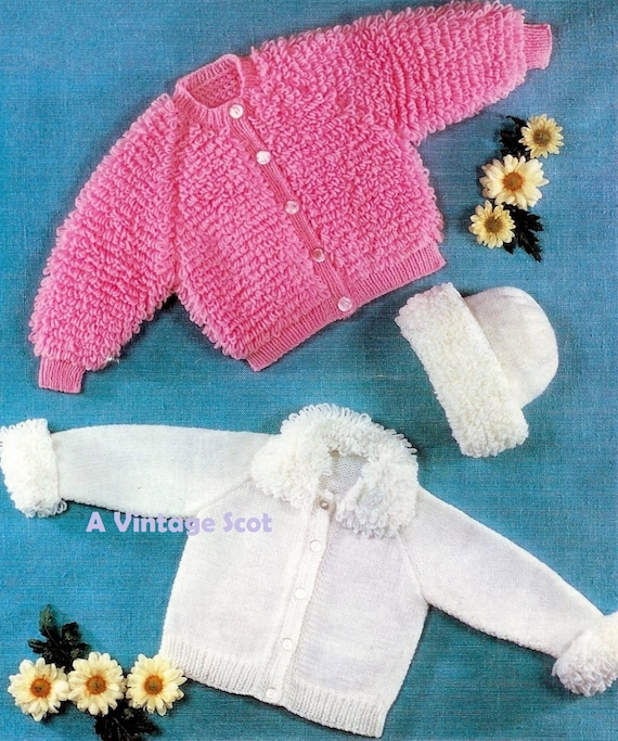 Baby Loopy Jacket Cardigan Home Supplies