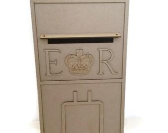 MDF Wooden Royal Mail Wedding Post Box