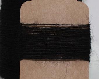 Black Burlap Twine, Black Jute Twine, Black String, Black Jute String, Halloween, Invitations, Party Supplies, Bakery Twine,Jewelry Supplies