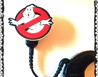 Cochlear Cuties:  No Ghosts Sign!  Please select quantity 2 for a pair!