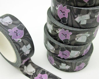 By Jove! Gentleman Octopus Tea Party Decorative Removable Washi Tape