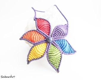Rainbow necklace, LGBT necklace, gay pride necklace, LGBT pride, rainbow colours, hippie necklace, rainbow, colourful necklace