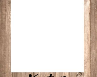 Rustic Photo Frame Prop