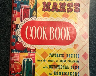 Meals from the Manse Cookbook, 1969