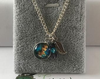 Handmade Baby Groot Inspired Necklace