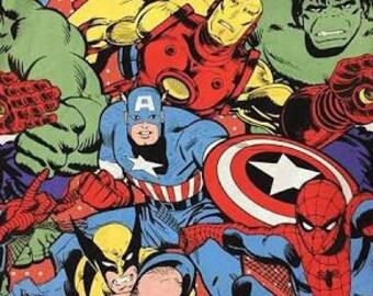 Reversible Marvel Avengers Bag or Bandana