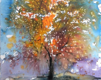 New England Fall-Scape No.1, limited edition of 50 fine art giclee prints