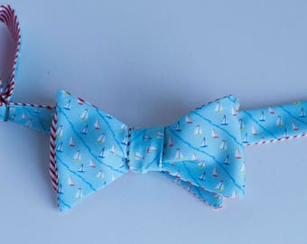 Sailboat Sports Bow Tie- 2 colors