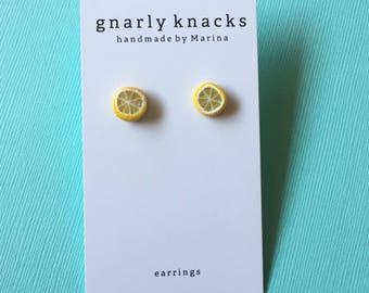 Make Lemonade Earrings