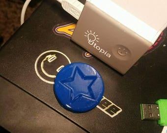 Blue Mario Coin