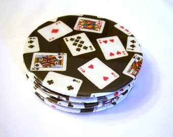 Playing Card Coasters