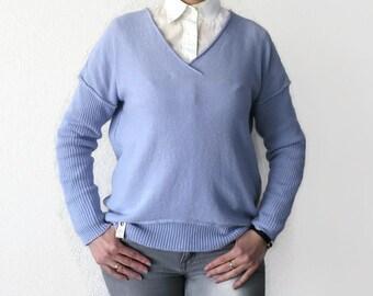 cashmere sweater, boxy sweater, cashmere cardigan, light sweater, oversize knit cardigan, pastel sweater, lightweight sweater, jersey