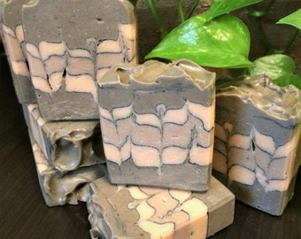 Dead Sea Mud Soap, Ylang Ylang Essential Oil Blend