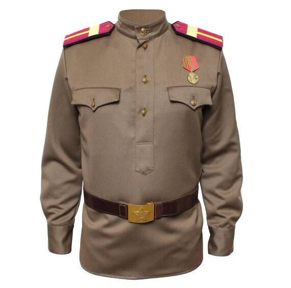Russian Uniform jacket Gimnasterka Military Soviet Red Army RKKA WWII USSR UstYfW4ku