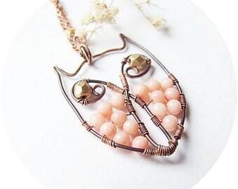 Wire Owl Tutorial, Owl Necklace Jewelry Tutorial, Wire Wrapping Tutorial, DIY Wire Owl, Tutorial 21