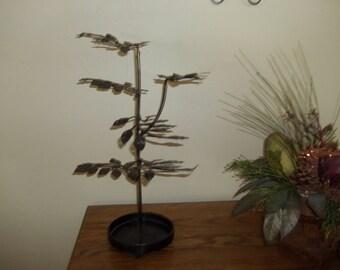 Metal Jewelry Tree Holder