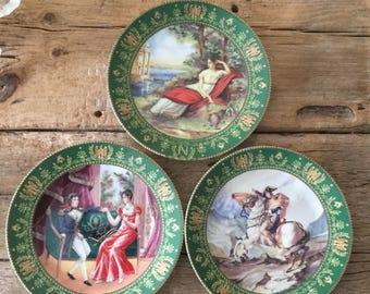Limoges France collectors plates. Josephine et Napoleon de Boulme collectors plates. Signed  by the artist C.Boulme.