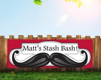 Mustache Banner,Little Man Banner,Mustache Party,Mustache Baby Shower,Mustache