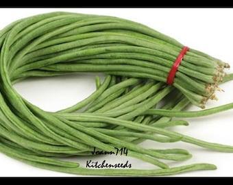 100+Yardlong Bean,Black Seed,Asparagus Bean Seeds Vegetable Yard Long ,Đậu Đũa .Vigna unguiculata subsp. sesquipedalis
