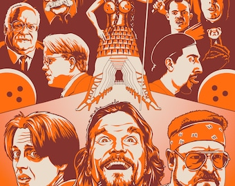 The Big Lebowski Poster 18x24