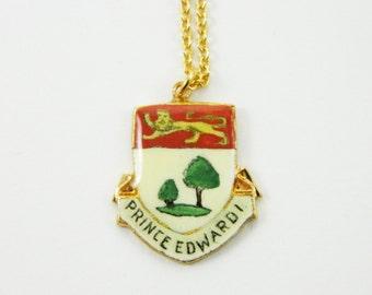 PEI Pendant Necklace