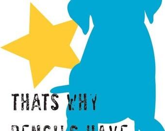 Childrens Wall Art Labrador Retriever Puppy Dog Art Print Motivational Art for Kids Series