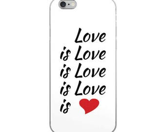 Love is Love is Love - iPhone 5/X Cases