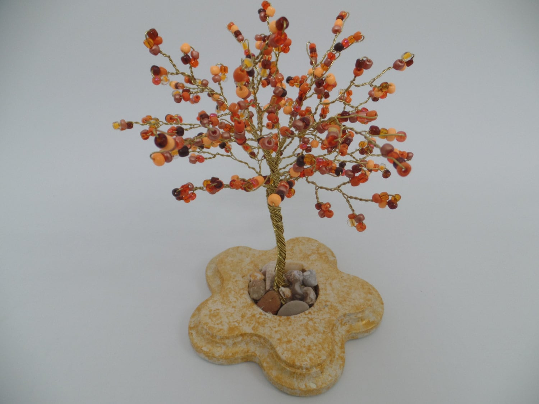 Draht Baum Skulptur wulstige Baum Bonsai-Baum Baum des