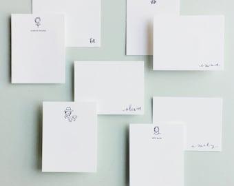 Letterpress-Custom Stationery Set