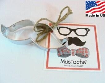 Mustache Cookie Cutter by Ann Clark