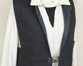 Medieval noble Vest,Rustic Pirate Vest, Men's Renaissance Vest, Victorian Vest festival clothes victorian clothing
