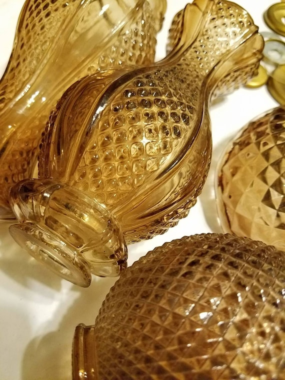 Vintage lamp glass parts and brass parts vintage glass glass lamp vintage lamp glass parts and brass parts vintage glass glass lamp parts from underthesamesky1 on etsy studio mozeypictures Image collections